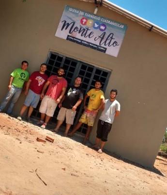 Missão Paraguay –Construção da igreja